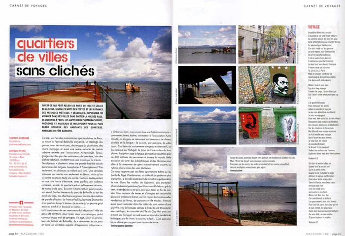 Macadam magazine